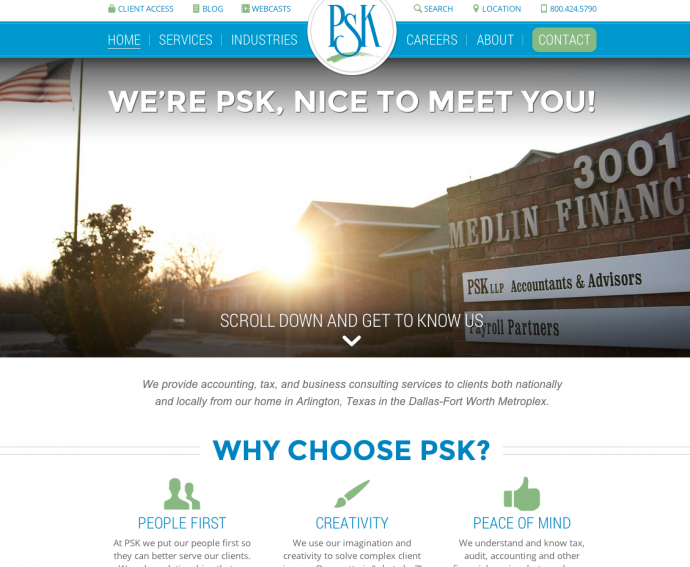 PSK home page